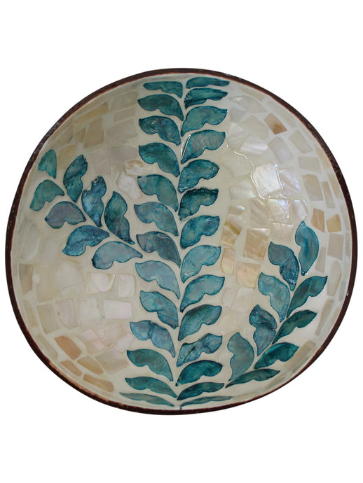 Bowl Coco Shell - Pale Fern