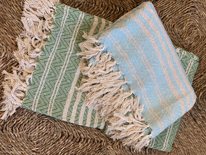 Woven Cotton Throw