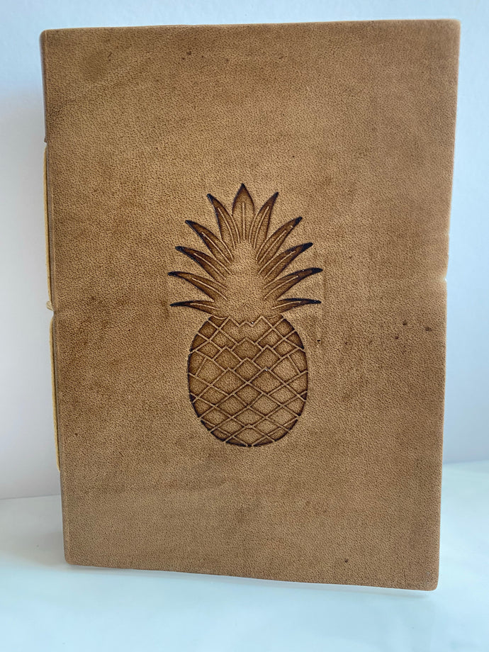 Notebook Leather Pineapple