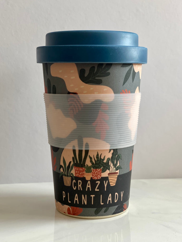 Keep Cup Crazy Plant Lady 400ml