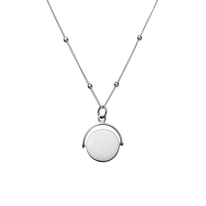 Necklace Swing Disc Pendant