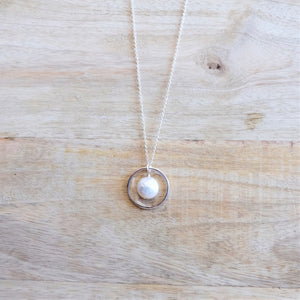 Pearl Circle Necklace