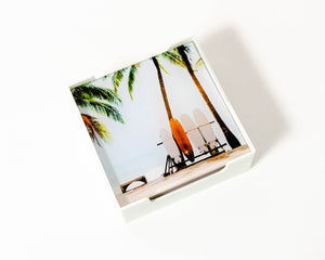 Coaster Glass Surfers Paradise S/4