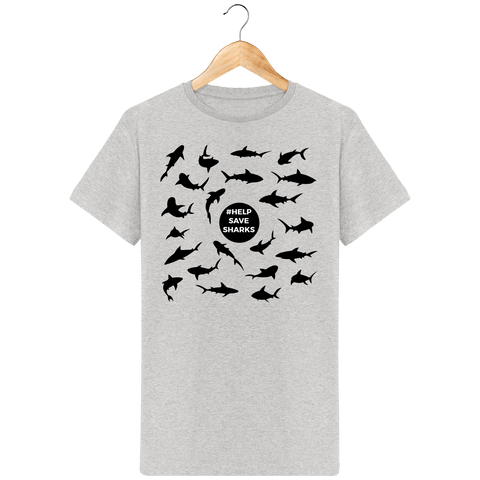 T-shirt homme Save-Sharks - Instinct-ocean