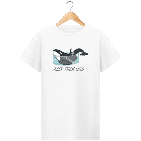 T-Shirt Homme Keep Them Wild - Instinct-ocean