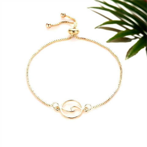 "Bracelet Vague ""Circle Wave"" - Instinct-ocean"