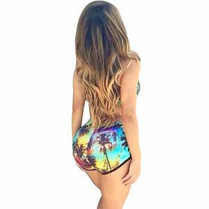 Bikini Swimsuit for Women Printed Swimwear