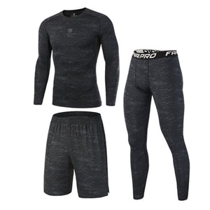 Compression Men's Sport Suits sets