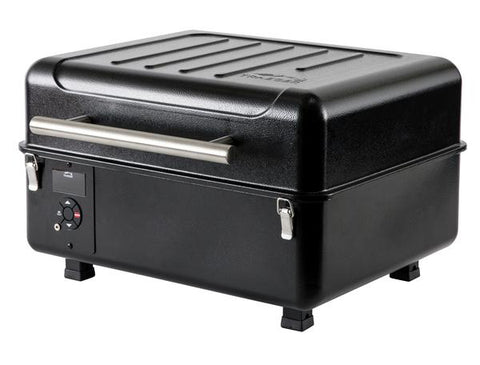 Traeger Ranger wood pellet grill with lid closed