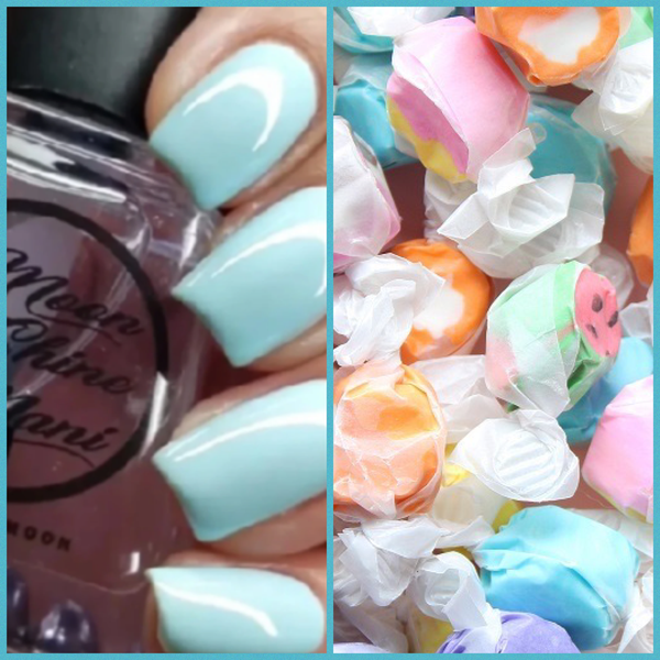 Salt Water Taffy  LET'S GO! Quick Dry Top Coat