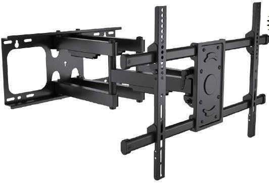 Ezymount VLM-5400 LCD Full motion quad arm mount, 630mm ext.,  interface up to 600 x 400 65Kg rating.