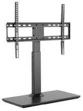 "Load image into Gallery viewer, Ezymount VTS-U70 Universal Table top stand, height adjustable, swivel 37"" to 70"" 35Kg"