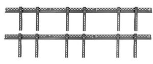 TH-VWP160 Video wall mounting rail 1600mm joinable for any length
