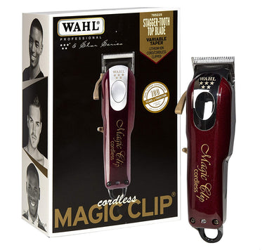 Maquina Magic Clip Inalambrica Wahl 5 Estrellas Triple Aaa