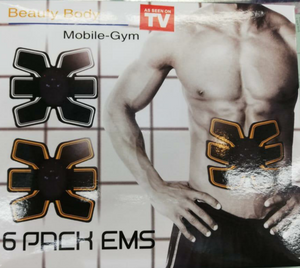 Gimnasia Pasiva 6 Pack Ems Mobile Gym Beauty Body