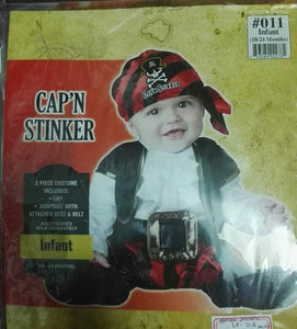 Captain Stinker Costume Importado
