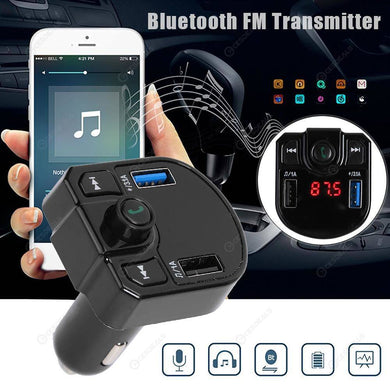 Bluetooth FM wireless transmitter car kit M9