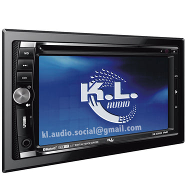 Radio Dvd Kl Sq-330nv Mirrorlink Gps.