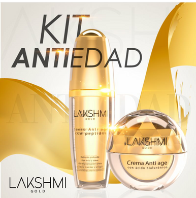 Kit LAKSHMI Gold - Crema Antiedad