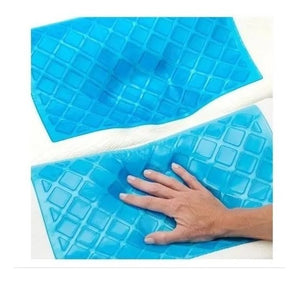 Almohada Cool Pillow Ortopédica Indeformable Con Gel Refresc