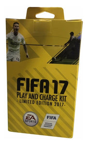 Kit Play & Charge Fifa17 Cable Usb Bateria Consola Xbox 360