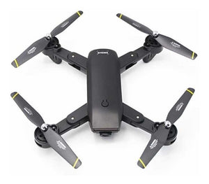 Drone Dm107s Doble Cámara 2mp Wifi Plegable