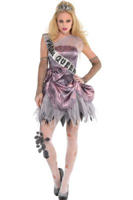 Zom Queen Fancy Dress Costume Importado