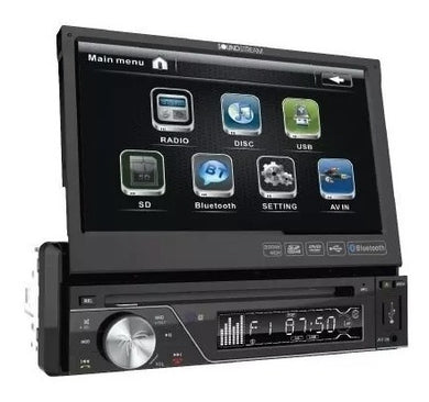 Radio Para Carro Soundstream Pantalla Bluetooth Vir-7830b