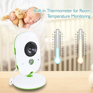 Wireless Video Bebe Monitor Dual System