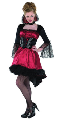 Teen Girls Va-Va-Vampire Costume Importado