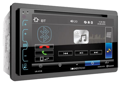 Radio Para Carro Soundstream Con Bluetooth Y Pantalla Vr-63b
