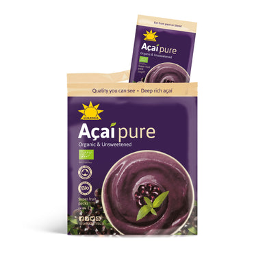 Amazonia Acai Pure Frozen Superfood Packs