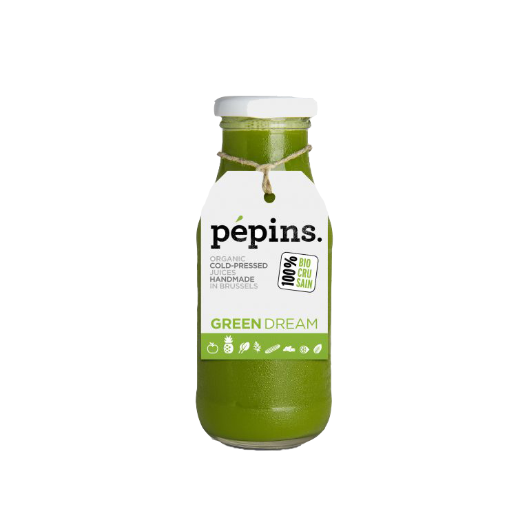 Pepins Jus Juices Green Dream Cure Shot