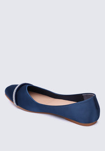 Eve Comfy Ballerina In Navy