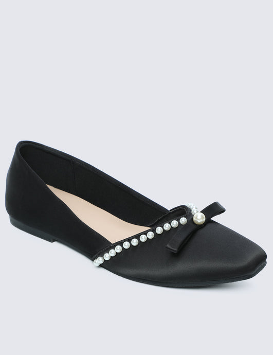 Camila Comfy Ballerina In Black