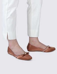 Camila Comfy Ballerina In Copper