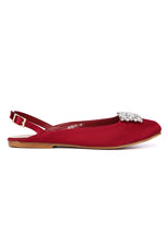 Load image into Gallery viewer, Gemie Comfort Ballerina   Maroon