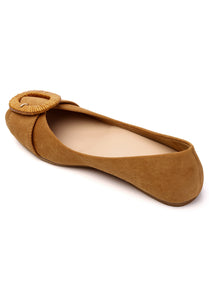 Beatrice B Comfort Ballerina   Brown