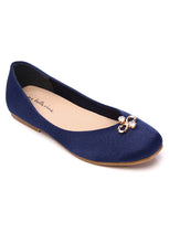Load image into Gallery viewer, Aurora Comfort Ballerina   Navy