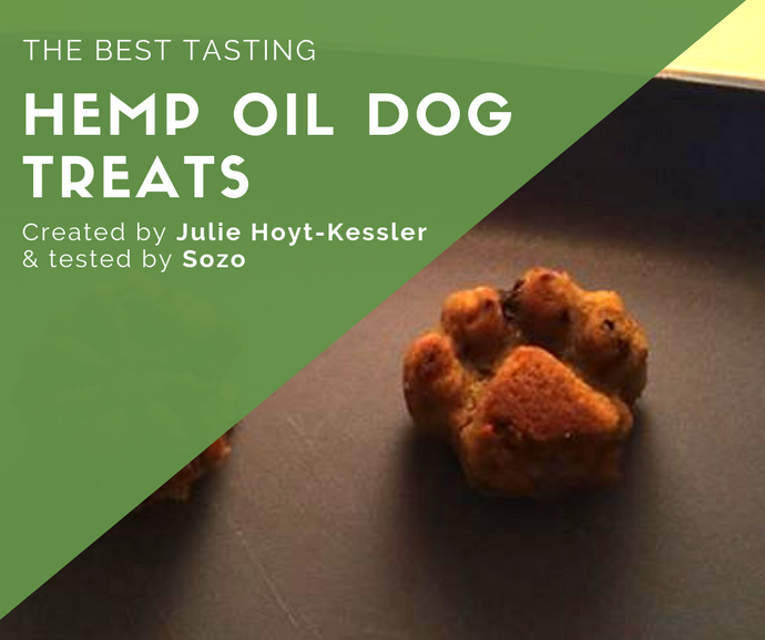 The Best Tasting Hemp Oil Dog Treats