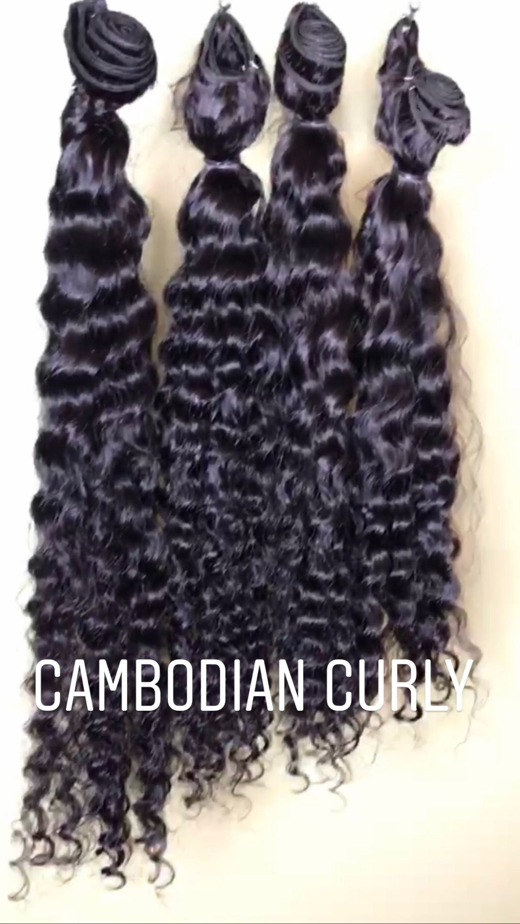 Cambodian Curly Tresses