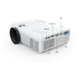 "VANKYO Leisure 3 LED 170"" Portable Projector for Home Theatre"