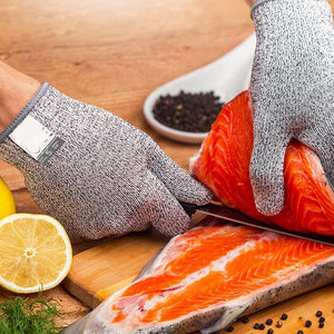 Chef's Stainless Steel Anti-Cut Safety Gloves