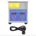 Ultrasonic Commercial Grade Jewelry & Parts Cleaner (1.3 L)