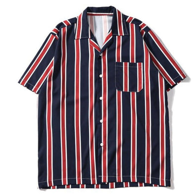 Urban Clothes Men's Urban Shirts- 50's Casual Shirt - FASHIONOPOLITAN