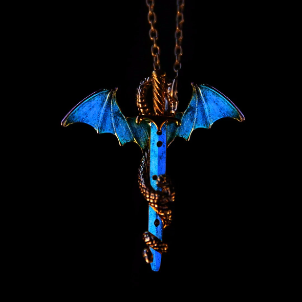 Glow In The Dark Dragon Chain