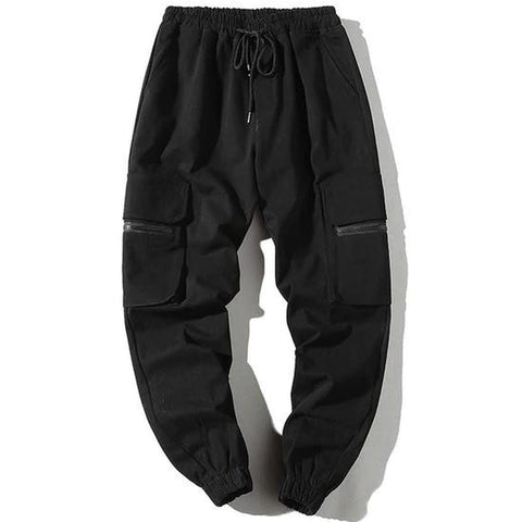 Urban Clothes Men's Joggers- Blacked Out Joggers - FASHIONOPOLITAN