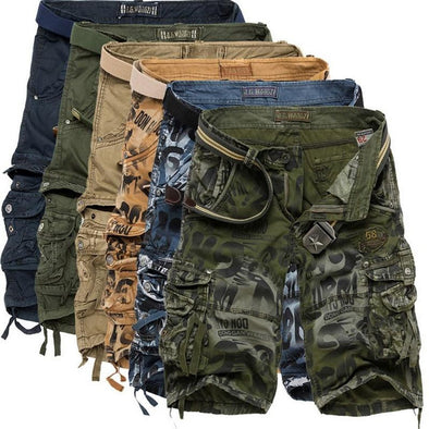 Urban Clothes Men's Shorts- Casual Cargo Shorts - FASHIONOPOLITAN