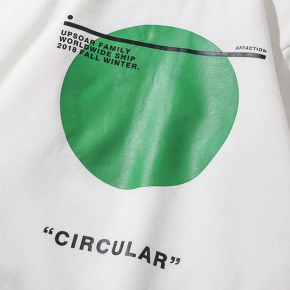 "Urban Clothes Men's Hoodies- ""Circular"" Hoodie - FASHIONOPOLITAN"