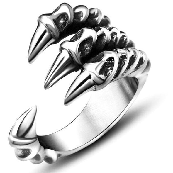 Men's Rings- Dragon Claw Ring - FASHIONOPOLITAN